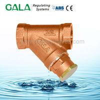 High quality bronze api valves y strainer , thread y type strainer
