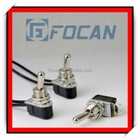 High quality CE,IP67,RoHS small mini toggle switch 3a 250vac