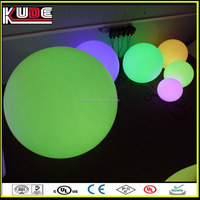 waterproof remote LED garden light ball from Foshan