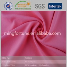 Fitness Wear Fabric Knitted Fabric Dongguan Supplex Lycra Fabric for Legging