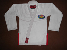 Shoyoroll white with trim custom logo bjj Kimono Replica
