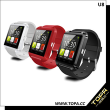 sports style bluetooth phone watch for ios android system