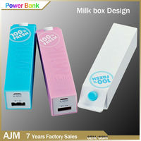 Intelligent Battery Charger Mobile Power Bank 2600mah