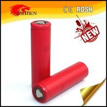 High quality Sanyo 18650 3400mAh 3.7V li-ion rechargeable battery,3.7v sanyo 18650 3400mah for vapor mod