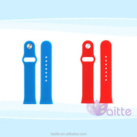Silicon strap bracelet fitnes sport band silicon Band for Apple watch