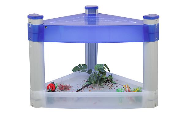 End Shelf Led Light Fish Pond Aquarium Tank - Buy Corner End Shelf ...