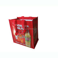 factory supply promotional reusable pp woven promotion bags