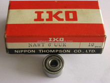 High performance needle roller follower, track roller bearing NART6UUR
