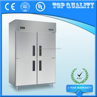 Commercial Saving Energy Four Door Refrigerator Fridge