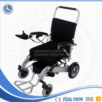 Top number one wheel chairs on Alibaba Joystick Controller folding Electric Power Wheelchairs with Lithium Battery