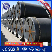 SSAW Galvanized Steel Lining Pipes, API 5L x52 Oil and Gas Pipe