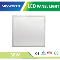 High level uniformity approved CE RoHS SAA 3 years warranty white colored surface mounted led panel light 600x600 36w