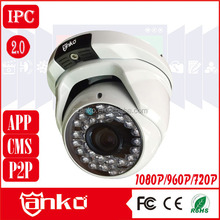 Gold supplier CMOS Sensor hi3518 1.0MP/1.3MP/2.0MP surveillance camera