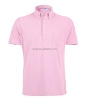 100 polyester 100% microfiber polyester men\'s polo shirt