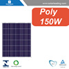Hot sale 150w solar pv panels with sunpower solar cell