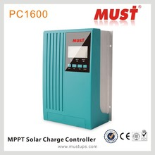 MUST MPPT 30A mppt 30 Solar charge controller, 12v 24v 48v auto work with LCD