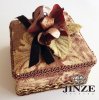 Velvet Attractive Design Alibaba Supplier custom jewelry gift boxes