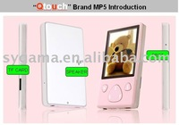 NEW! mp3 mp4 player 2.4 inch QVGA TFT screen with FM SGP-638