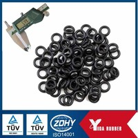 High quality different size o-ring shapes / 6* 0.3 NBR o ring / flat rubber o ring