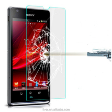 High Quality 9H 2.5D Round Edge HD Tempered Glass Screen Protector for Sony Xperia SP M35H