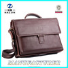 great best coffee genuine leather briefcase bag for hot selling