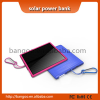 Solar Panel Waterproof Shockproof Portable Charger Backup External Battery Power