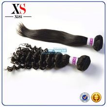 New arrival cheap brazilian body wave human hair 16 inch hair weft hair braid made of synthetic fiber