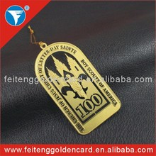high quality personalized brass Christmas ornament hot sell in United Sates