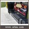 Arlau FS358 ad. street bench advertising park benches