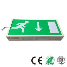 High Light Emergency Exit Sign 60 LED Exit Route Emergency Lamp