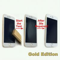 New products auto repair full cover screen protector for iPhone 6 golden edition