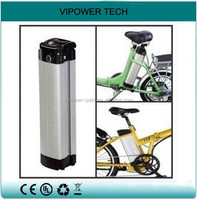 36V 10Ah Ebike Battery Pack Silver Fish Electric Bicycle Battery LiFePO4 Rechargeable Battery Pack