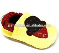 2015 NEW baby basketball shoes strawberry enviromental leather soft sole shoes alibaba express