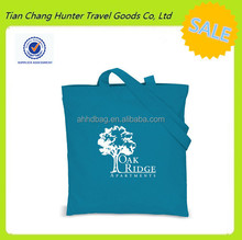 full color reusable green lady tote bag for shopping with long handed strap