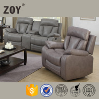 Air leather modern rocker recliner relax couch sleep home luxury living room set , 97601