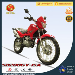 2015 NewStyle Best-selling 200cc dirt bike NXR BROS motorcycle SD200GY-15A
