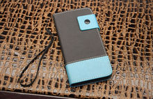 latest design factory sell genuine leather case with PC shell for iphone 6