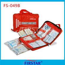 Nylon road trip first aid kit
