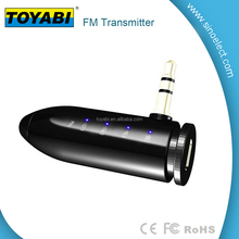 3.5mm In-car FM Transmitter Radio Adapter Car Kit MP3 Player Wireless FM Transmitter