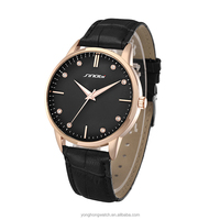 Trend Design Japan Movt Quartz Fashion Leather Mens Watches