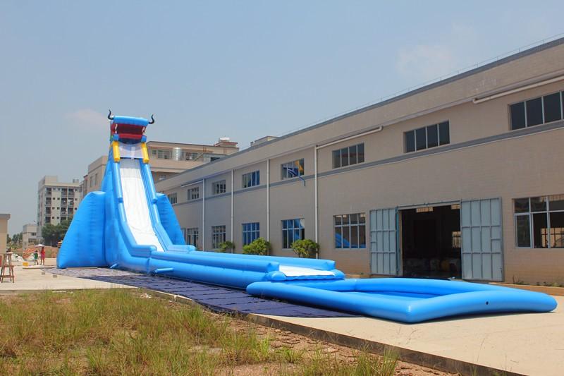 40ft g ant gonflable toboggan avec piscine pour adultes et for Toboggan piscine adulte