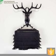 Popular Crazy Selling Wholesale Women Shoulder Bag Bucket Bag Fringe Tassel PU Bag