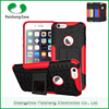 New protective cell phone case TPU+PC 2 in 1 dual layer with kickstand 8 colors for Apple iphone 6S / 6 / PLUS case cover