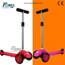 Fasy cruiser plastic pedal kids kick scooter