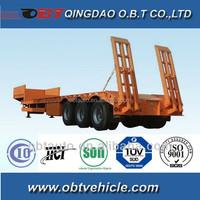 OBT Low flat bed trailer/ trucks for sale