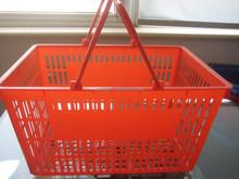 New Plastic Laundry Handle Basket for Supermarket Manufacturer