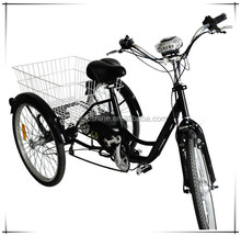 cheap and high quality 3 wheel three electric tricycle from China