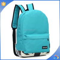 2015 popular nylon school backpack for teens