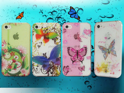 wholesales hot sellling Waterdrops Design Mobile Phone Cover for iphone 4 4s
