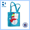 diy facric christmas drawstring gift bags